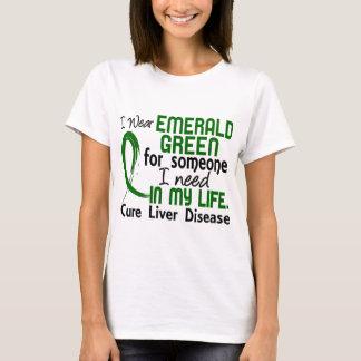 Verde esmeralda para alguien necesito enfermedad camiseta