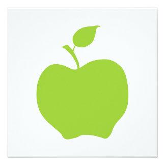 Verde Invitación 13,3 Cm X 13,3cm