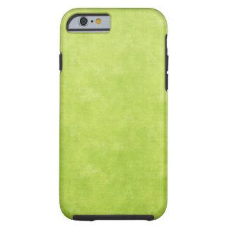 Verde lima brillante funda de iPhone 6 tough