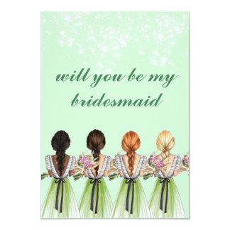 verde lindo usted será mi invitación de la dama de