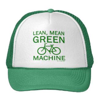 Verde magro del medio del verde gorras de camionero