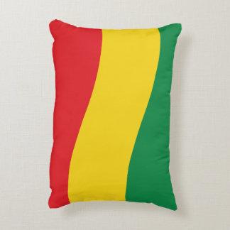 Verde, oro (amarillo) y bandera de los colores