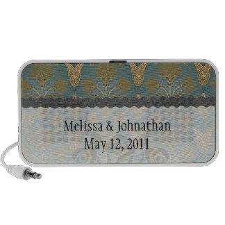 verde oscuro del trullo y recuerdo del boda del da iPod altavoz