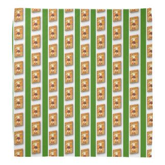 Verde - pañuelo de piedra céltico de la solapa del