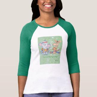 Verde para la camiseta de la paz