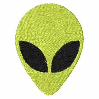 Verde principal extranjero con el modelo de ojos