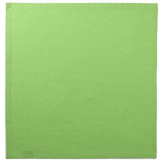 Verde sólido servilleta de tela