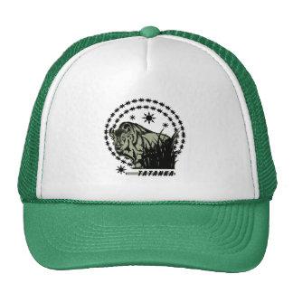 Verde Sun-Americano del búfalo/del bisonte de Gorras