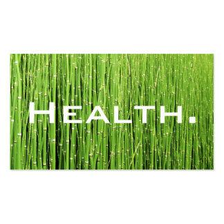Verde Tarjeta-Natural del negocio del profesional Tarjeta De Visita