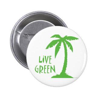 Verde vivo - palmera pins
