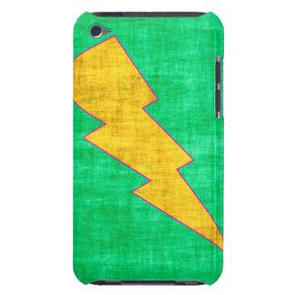 Verde y amarillo iPod touch fundas