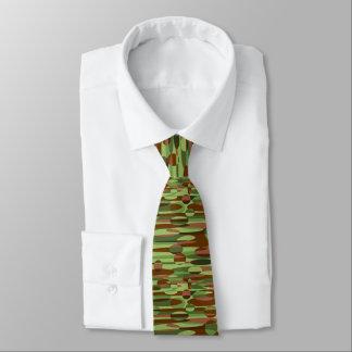 Verde y corbata de las esferas de Brown