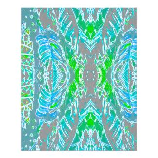 Verdes 1 primer y papel fino del modelo