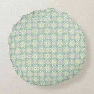 Verdes - almohada redonda (11)
