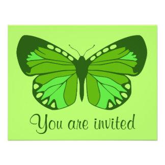 Verdes de la mariposa anuncios