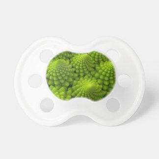 Verdura del fractal del bróculi de Romanesco Chupetes De Bebe