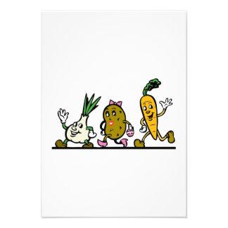 Verduras del baile anuncios