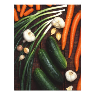 Verduras Folleto 21,6 X 28 Cm