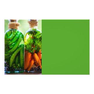 Verduras preservadas folleto 14 x 21,6 cm