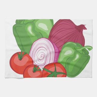 Verduras Toalla