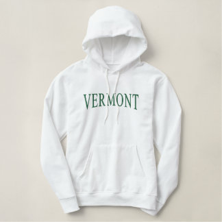 Vermont bordó sudadera con capucha