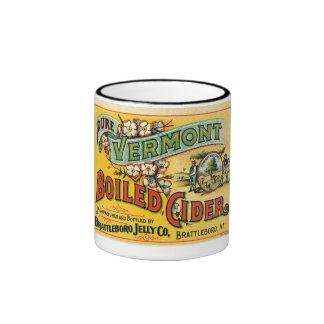 Vermont hirvió la sidra taza