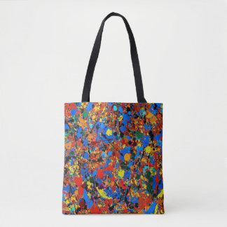 Veronica abstracto #744 bolsa de tela