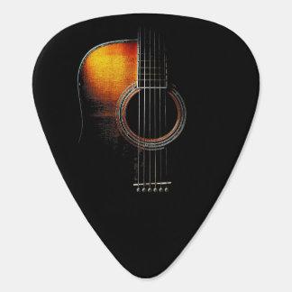 Versión 4 de la púa del diseño de la guitarra púa de guitarra