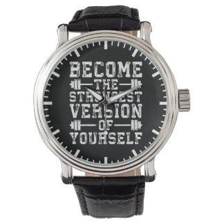 Versión convertida del The Strongest de sí mismo - Reloj De Pulsera