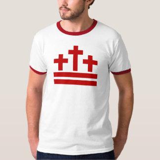Versión cristiana de la camiseta de la bandera del