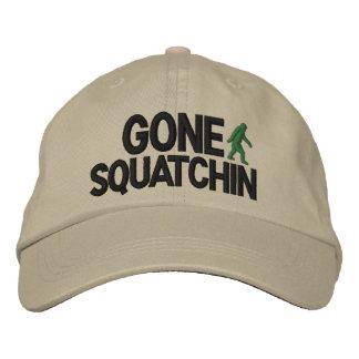 Versión de lujo ida de Squatchin Gorras De Béisbol Bordadas