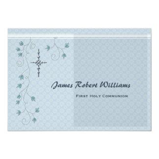 Versión religiosa 2 de la invitación de la vid que invitación 12,7 x 17,8 cm