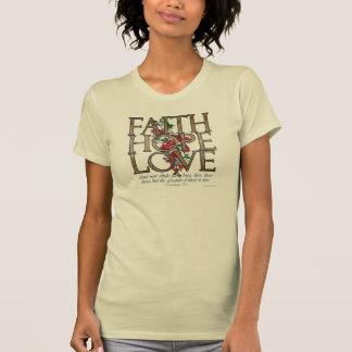 Verso cristiano de la biblia del amor de la camisetas