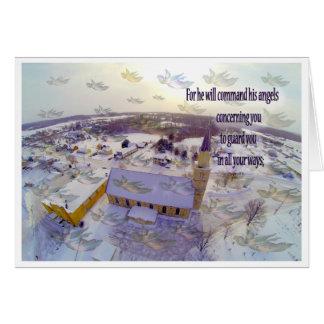 Versos de la biblia tarjeta de felicitación