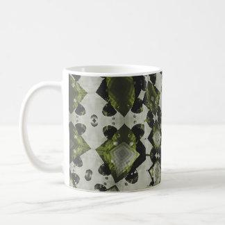 Vert-de-gris mug$14.95 taza básica blanca