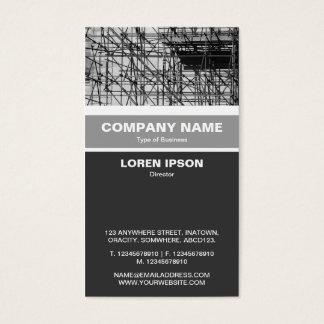 Vertical congregada - andamio tarjeta de negocios