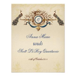 Vertical de la tarjeta de la recepción del pavo re anuncio