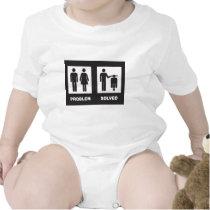Vespa divertida traje de bebé