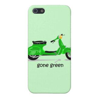 vespa verde ida iPhone 5 carcasas