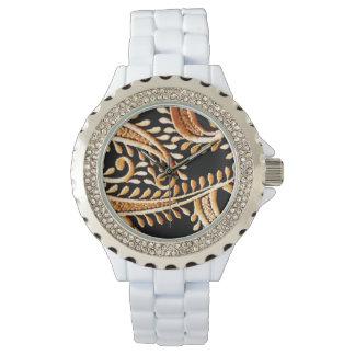 Vestido árabe relojes de mano