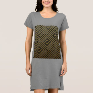 Vestido arte deco.gold, negro, geomtric, elegante,