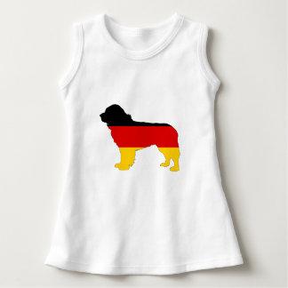 Vestido Bandera alemana - perro de Terranova