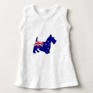 Vestido Bandera australiana - escocés Terrier