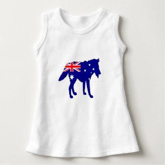 Vestido Bandera australiana - lobo