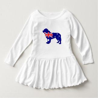 Vestido Bandera australiana - perro de Terranova