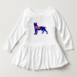 Vestido Bandera australiana - pitbull Terrier