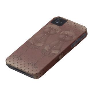 Vestido Blackberry 9700/9780 intrépido de /Vintage Case-Mate iPhone 4 Protectores