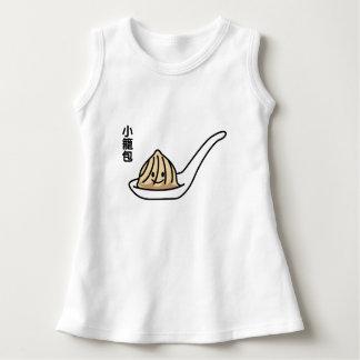 Vestido Bollo chino de Dim Sum de la bola de masa hervida
