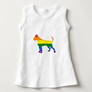 Vestido Boxeador del arco iris