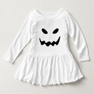 Vestido Cara del fantasma de Halloween